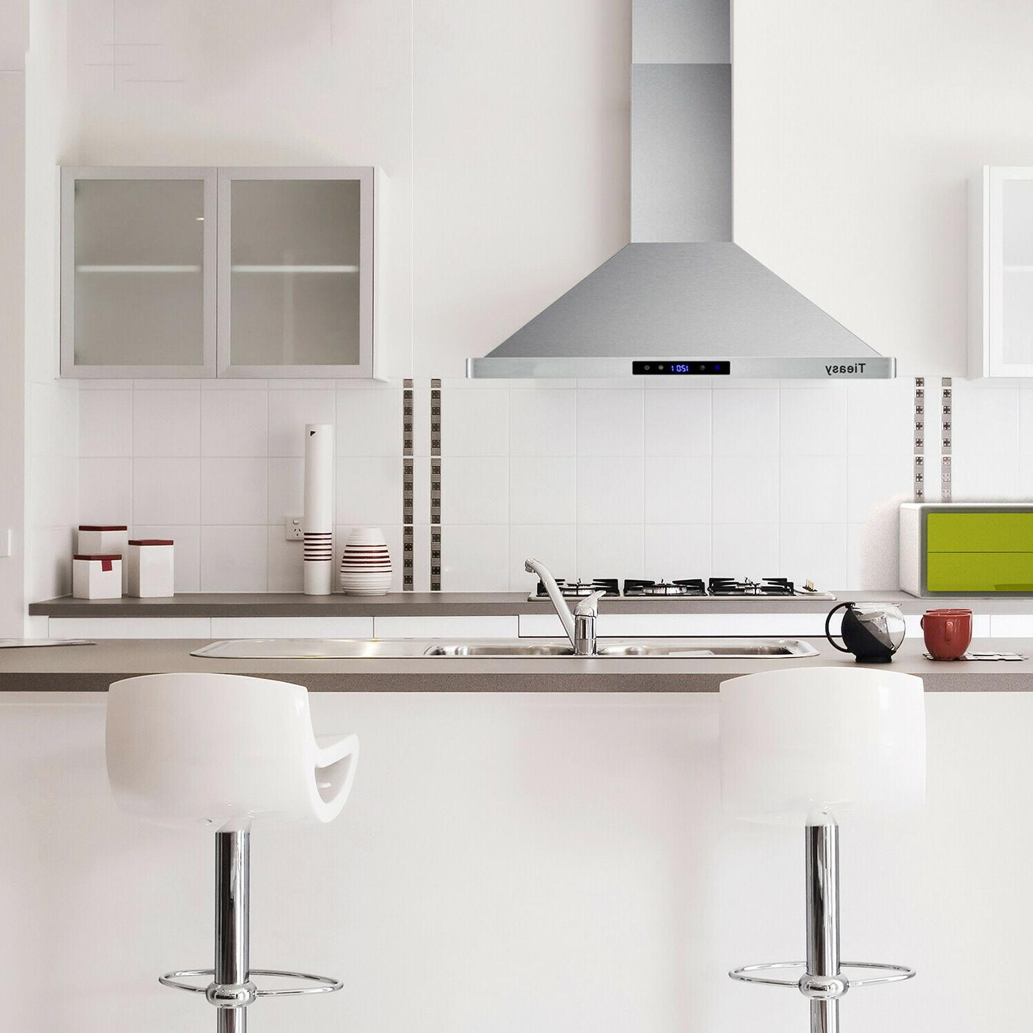 30 inch Wall Hood Stainless Steel Vent