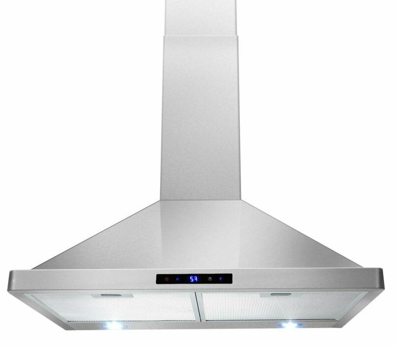 30 kitchen wall mount stainless steel touch