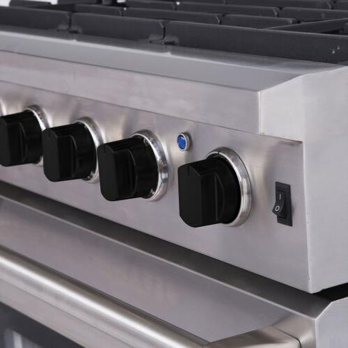 "30"" Thor Stainless Steel Gas with 5 Burner LRG3001U"