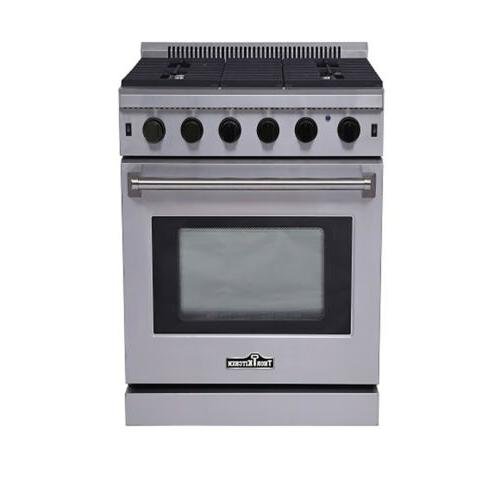 "Thor Kitchen LRG3001U Cooktop Stove Stainless Steel  30"" Gas"