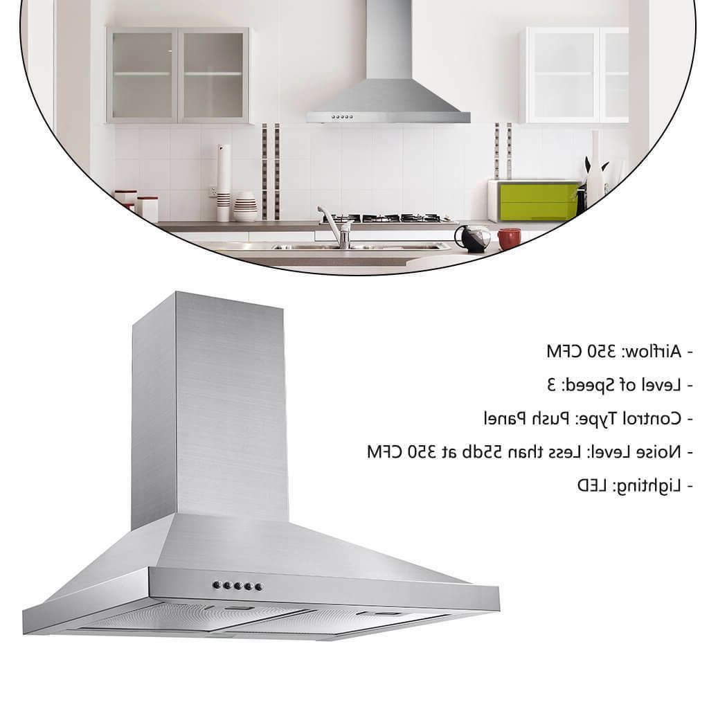 36 inch under cabinet range hood 350
