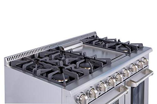 Thor with Double Ovens, Steel -