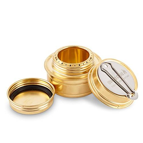 Solo Burner - Spirit Alcohol Stove for Camping, Hiking or