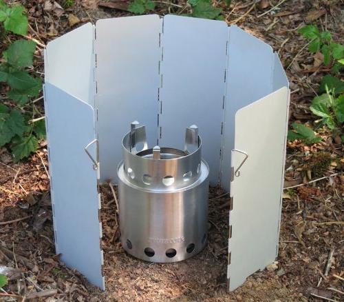 Solo Stove Windscreen: For Other Stoves, Butane Stoves