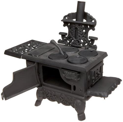 Black Mini Cook Stove - Inches Long