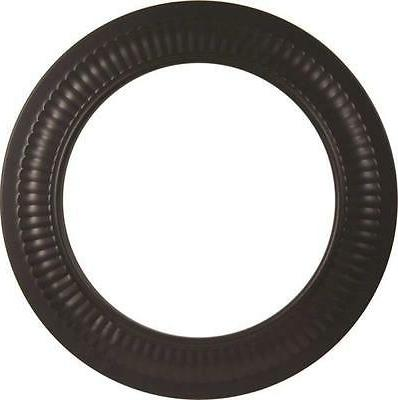 NEW IMPERIAL BM0096 8 INCH BLACK STOVE PIPE 24 GAUGE COLLAR
