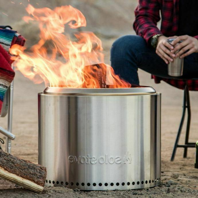 Pit Stainless Burning Outdoor Patio NEW