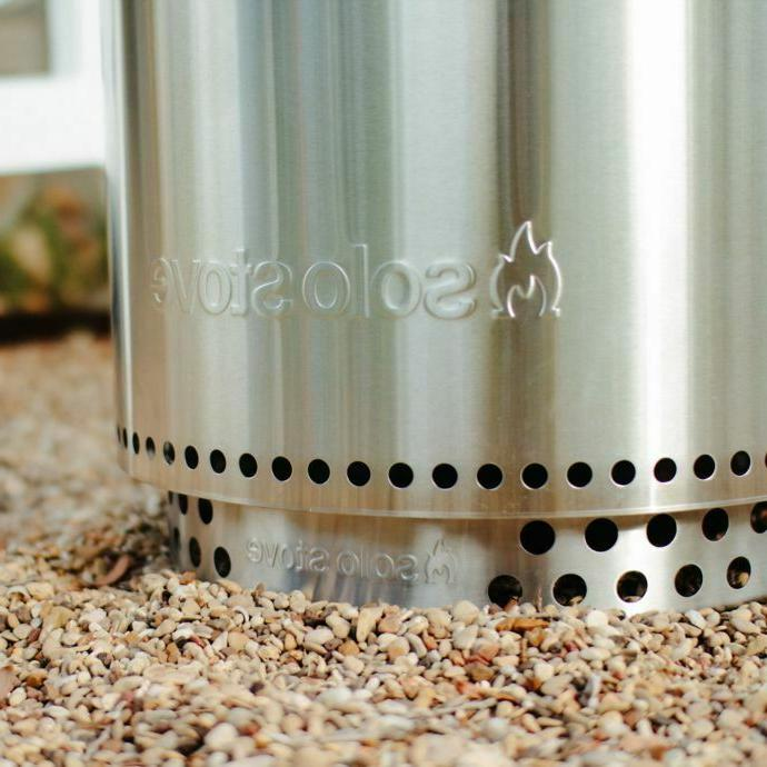 Solo Bonfire Pit Stainless Steel Wood Outdoor NEW