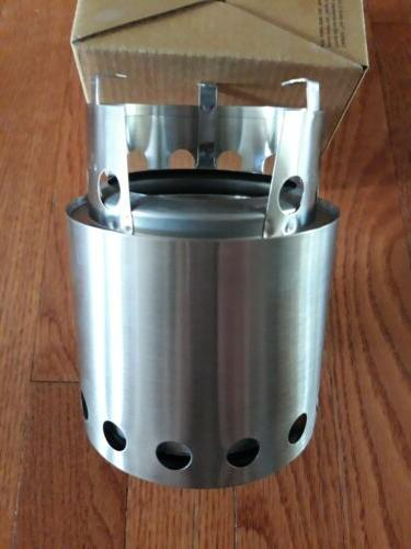 BRAND Stove Lite Steel Stove Camping Wood