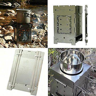 Firebox Bushcraft Camp Stove Kit