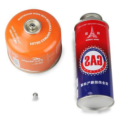 Butane Canister Gas Refill Adapter Camping Stove