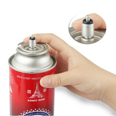 Butane Canister Adapter Camping Cylinder Accessories