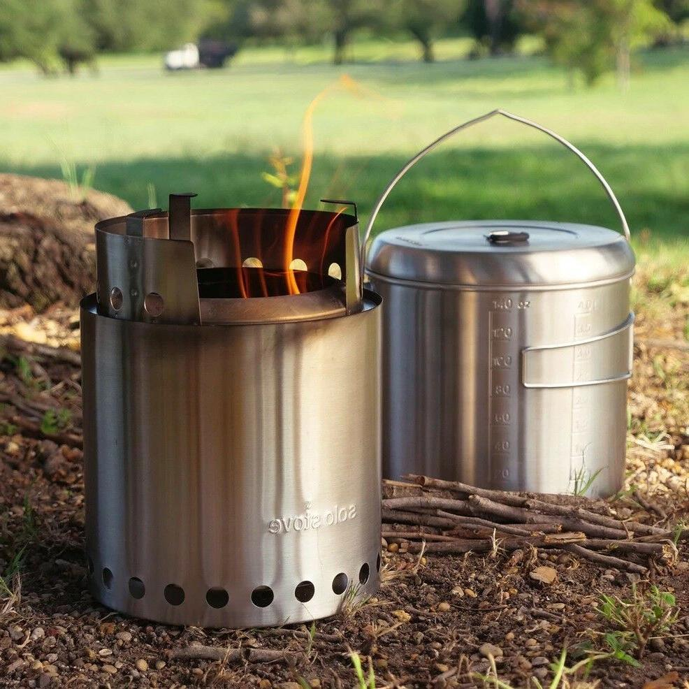 campfire by newest kit twig burning gasifier