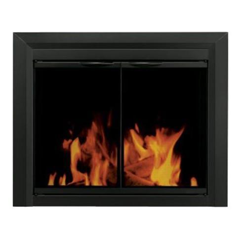 carlisle cabinet fireplace smoked glass