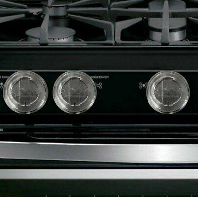 clear stove knob covers safety