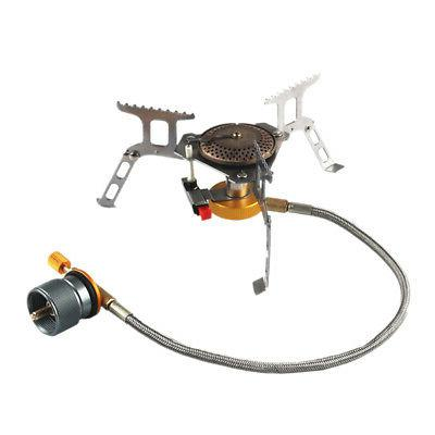 LPG Camping Adapter Small Propane Input Lindal Valve-Output
