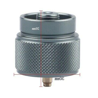 1x Small Gas Adapter 1LB Camping Input Output Stove Adapter
