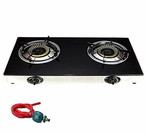 deluxe propane gas range stove