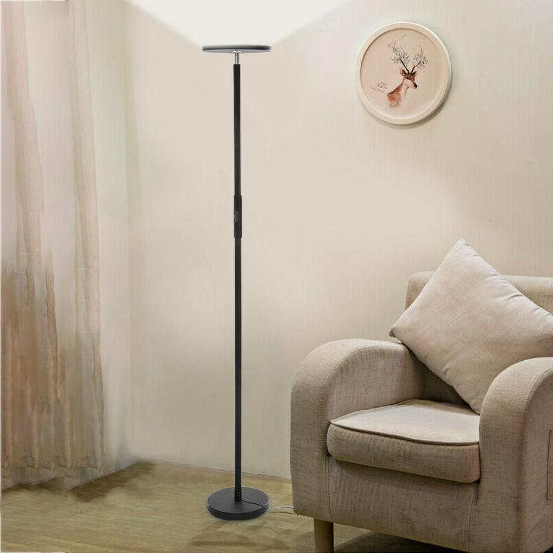 Dimmable LED Floor Lamp Standing Reading Home Office Dimmabl