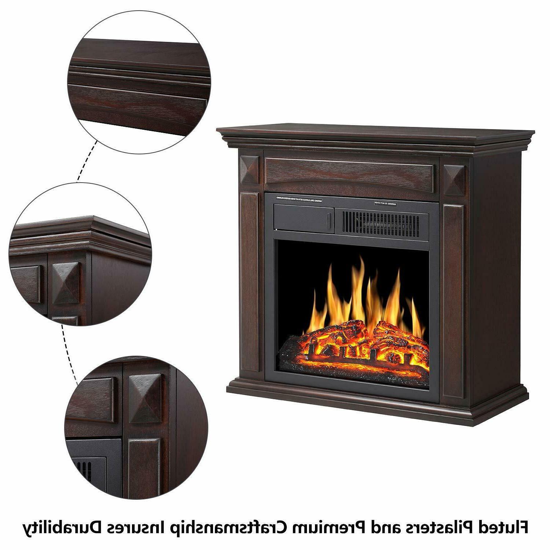 Electric Surround stove heater deco