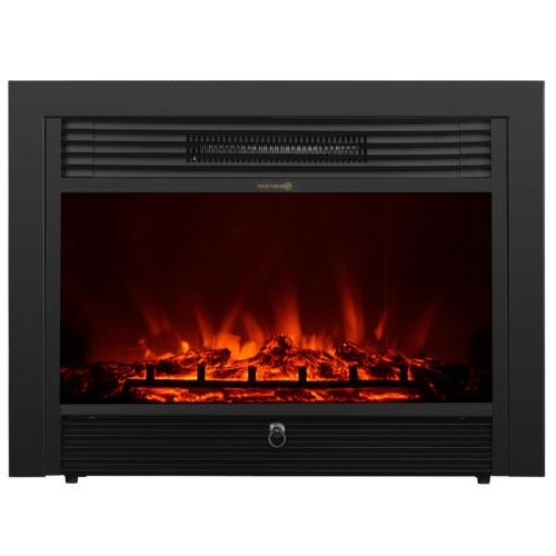 Embedded Insert Heater Log Flame with