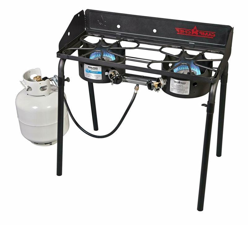 explorer double burner stove