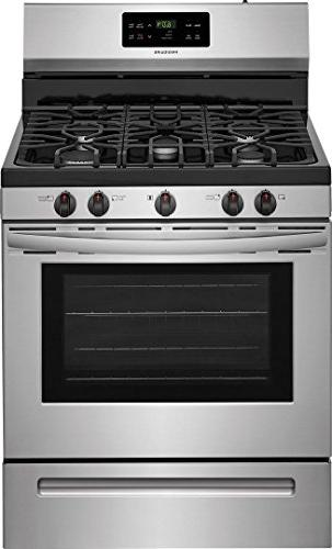 Gas Range with 5 5 cu. Oven Steel