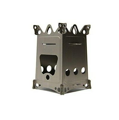 Emberlit Fireant,Titanium, Multi-fuel Backpacking Stove Grea