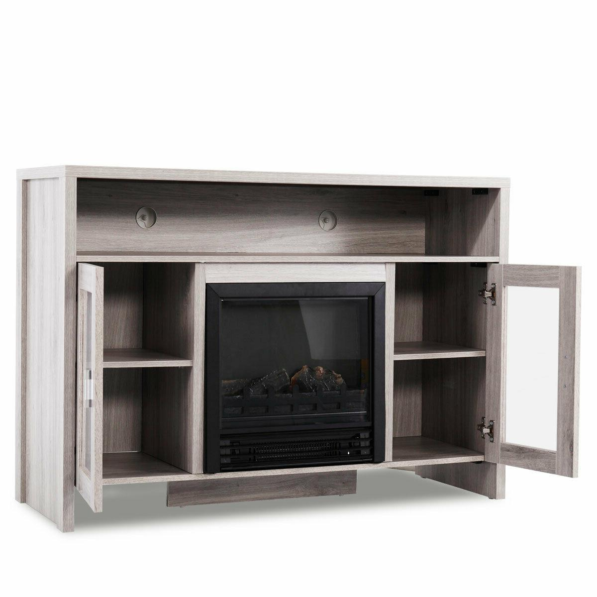 """Fireplace TV Storage Heater for to 43"""""""