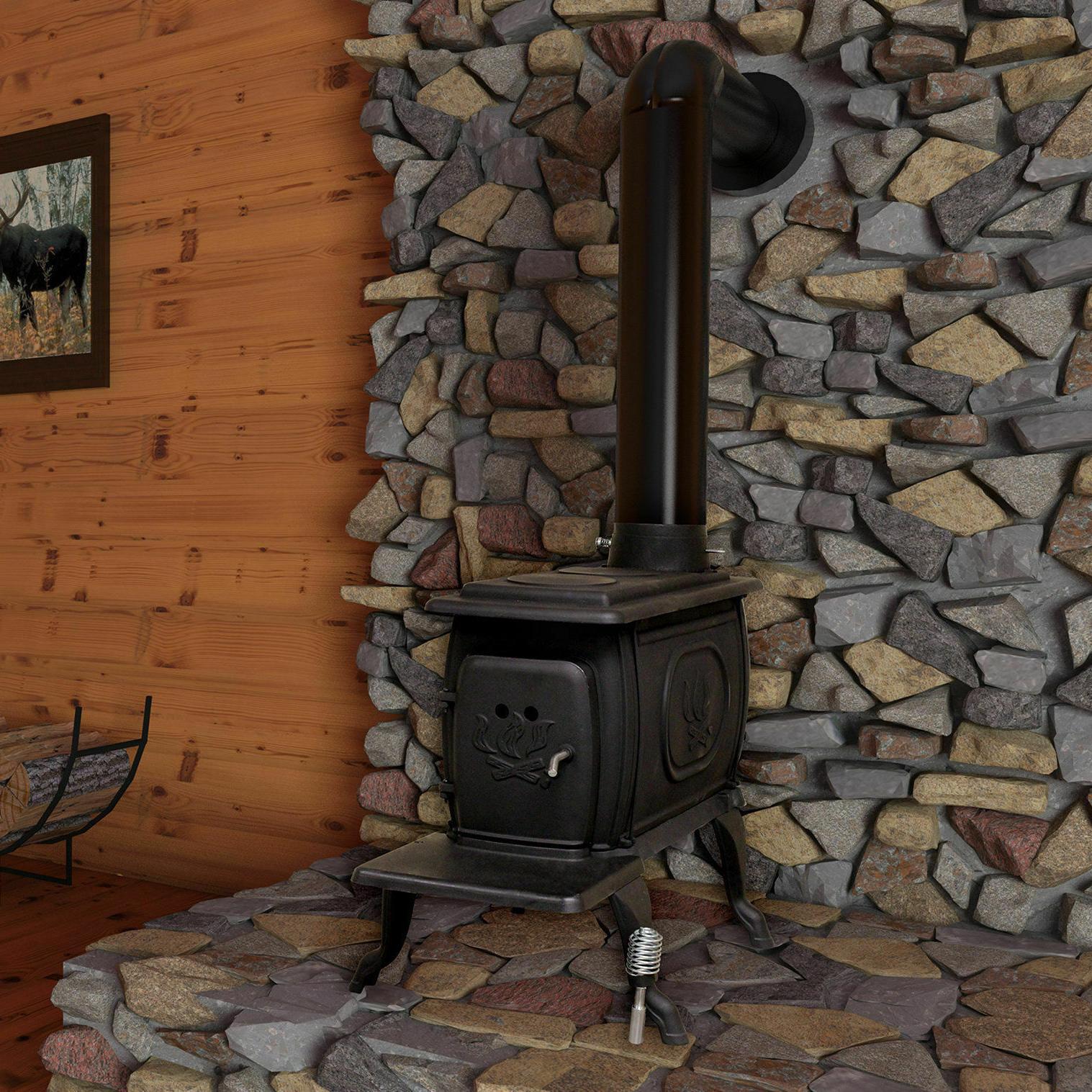 ft. Vent Wood Stove United Stove Company 900 sq.