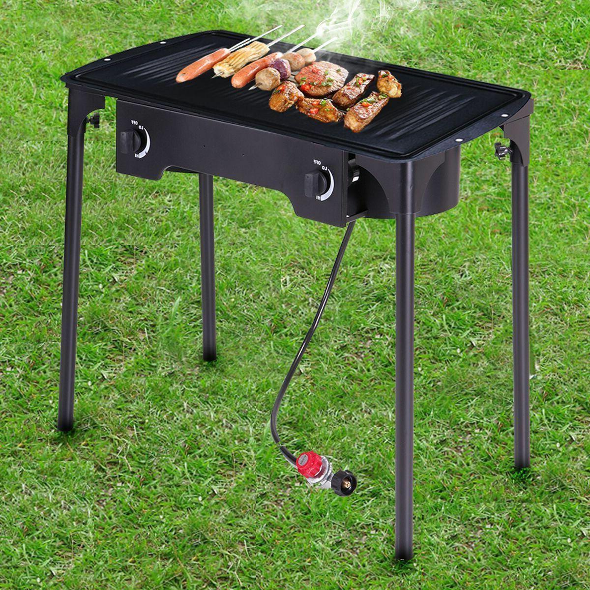 gas grill 2 burner bbq backyard patio