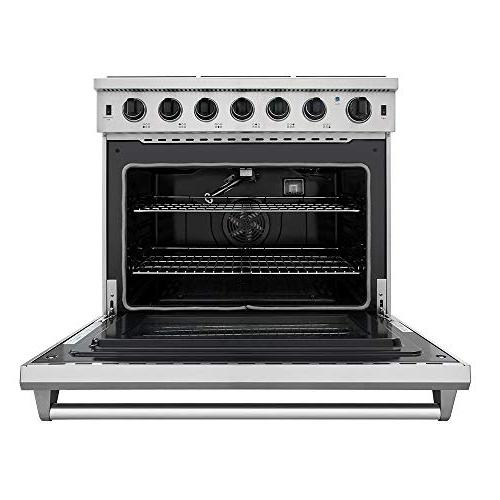 New Gas 6 Cooktop cu.ft Thor Kitchen