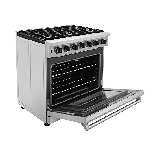 New Gas Range Cooktop 6.0 Oven Thor Kitchen
