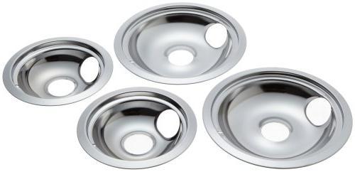 Stanco Pack Electric Range Chrome Bowls Slot