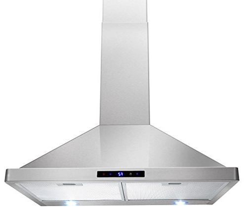 kitchen wall mount stainless steel