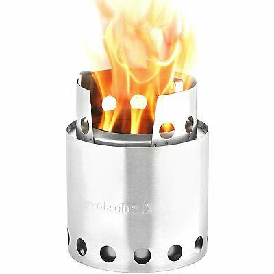 lite compact wood burning backpacking stove