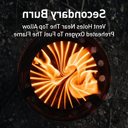 Solo Lite Compact Burning Stove