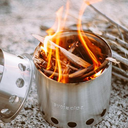 Solo Stove Compact Backpacking Stove