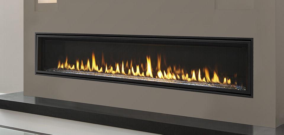 majestic echelon 72 linear gas fireplace w