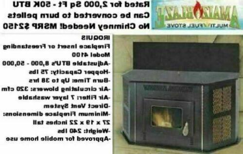 New Stove Up BTU Fireplace