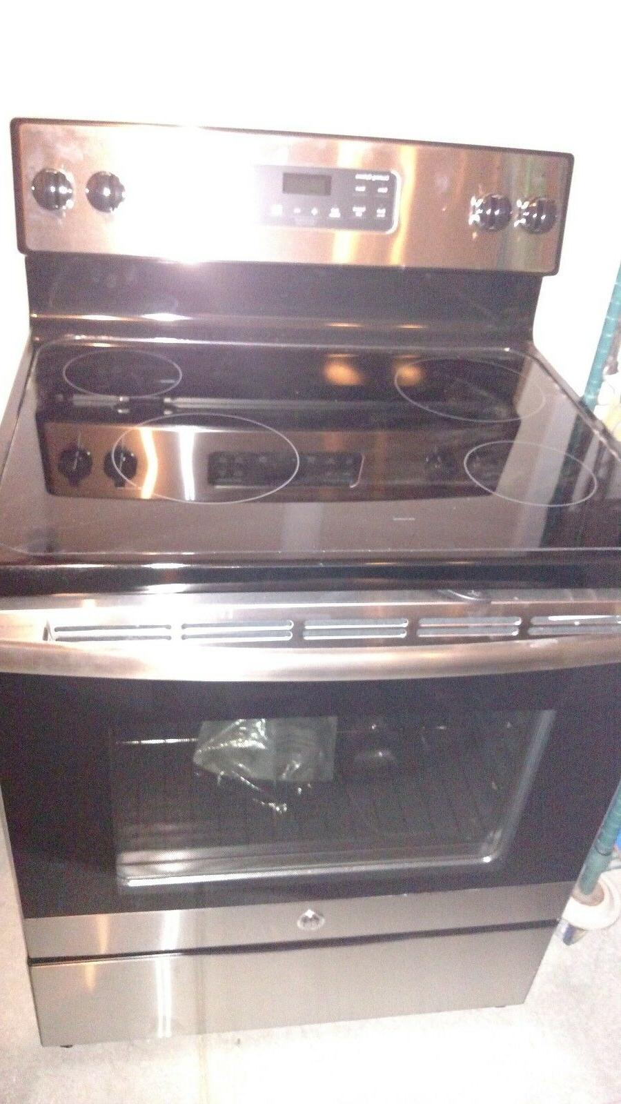 Ge Stainless Steel 30 Inch Free Standing
