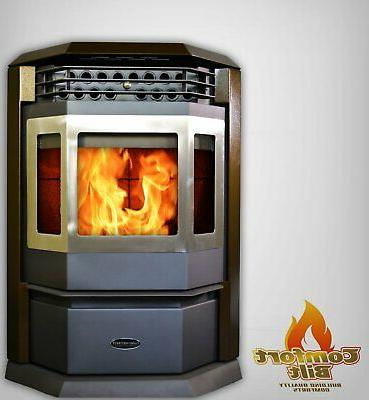 pellet stove hp22 ss 50000 btu stainless