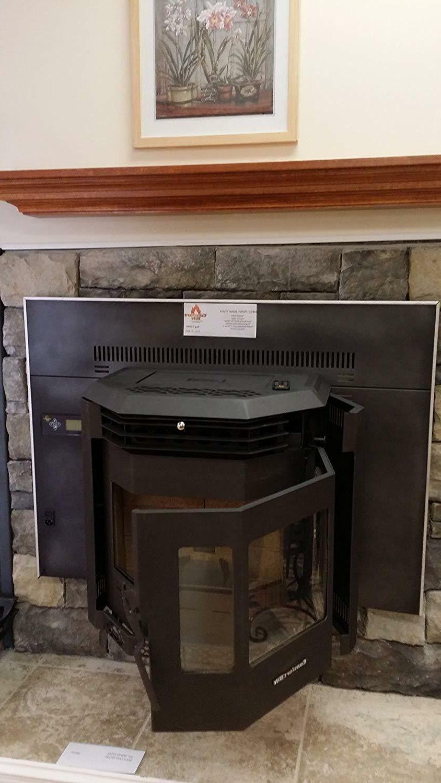 Fireplace Insert btu Charcoal Gray