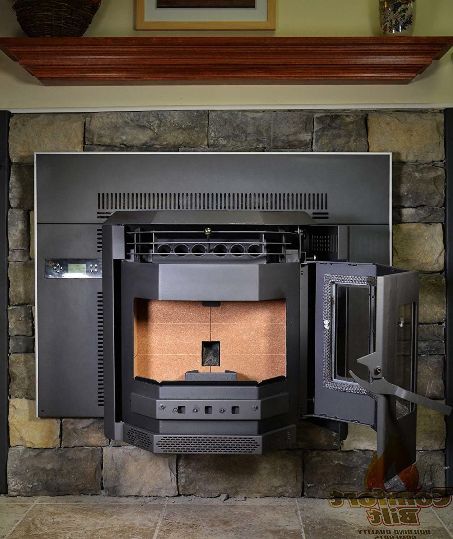 Pellet Comfortbilt HP22i Fireplace Insert 42000 Charcoal