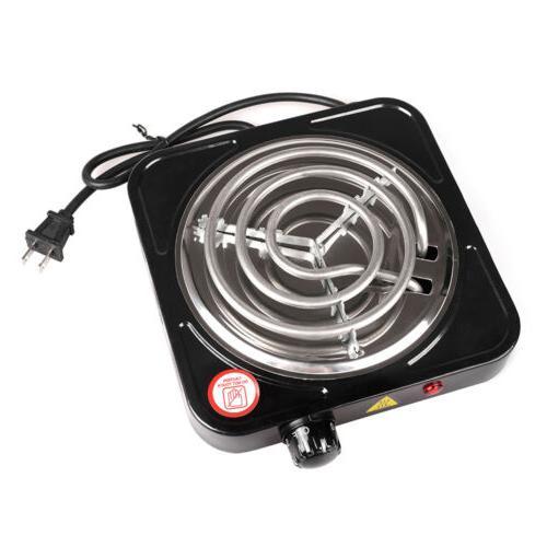 portable 1000w single electric burner hot plate