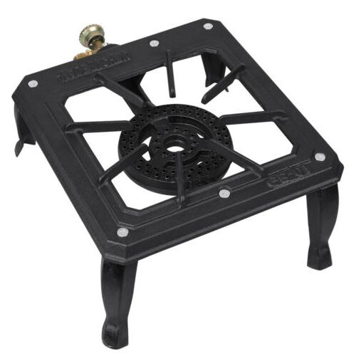 Portable Single Burner Propane Cooker