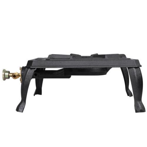 Portable Camp Stove Burner Cast Gas Cooker