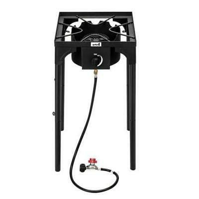 outdoor cooking gas single propane stove camping