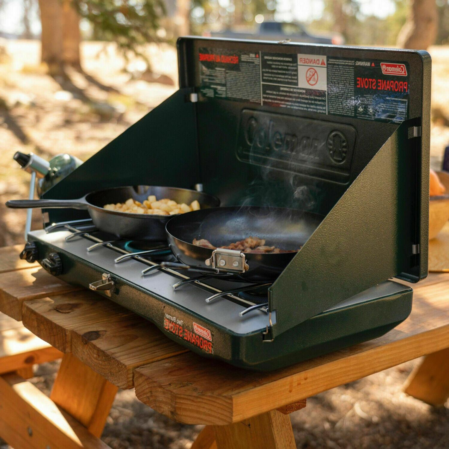 Coleman Portable Propane Classic Stove Burners