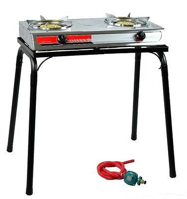 portable propane gas gasoline lpg stainless stove